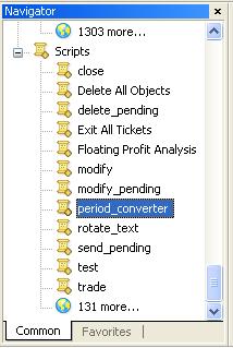 Forex period converter script