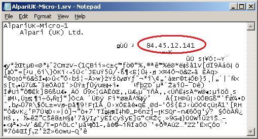 Alpari's Server IP