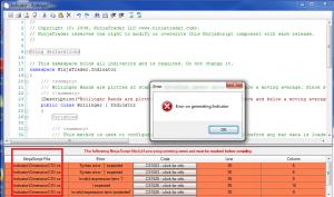 NinjaTrader Compile Error